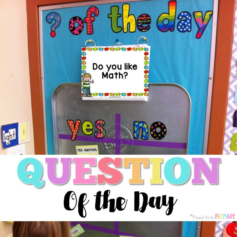 question of the day for kids