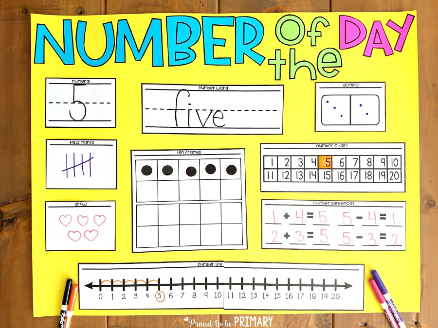 Building Number Sense to 20 - Proud to be Primary