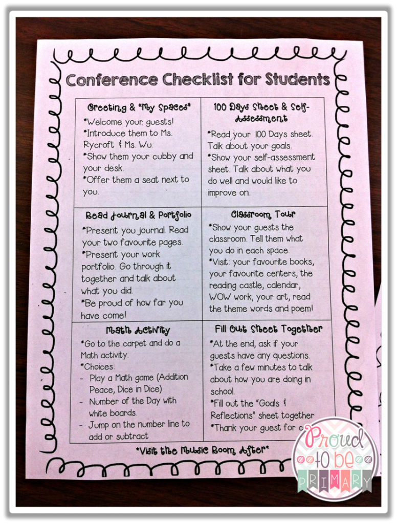 Preparing Student Portfolios for Student-Led Conferences ...
