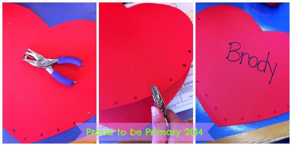 Valentines Day Heart Pockets Proud to be Primary – Kindergarten Valentines Cards