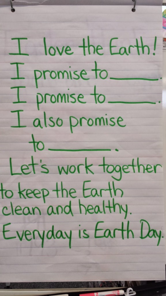 earth day ideas: Poem of the Week