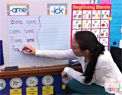 Teaching a Word Study program includes sight words, spelling, and rhyming word families. This post includes a free morning meeting schedule and comprehensive curriculum resources.