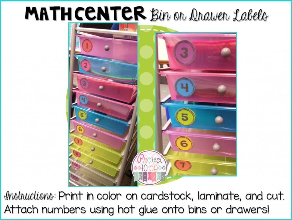 Complete Math Workshop Tool Kit - math center