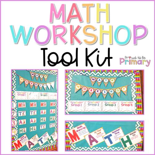 math workshop tool kit