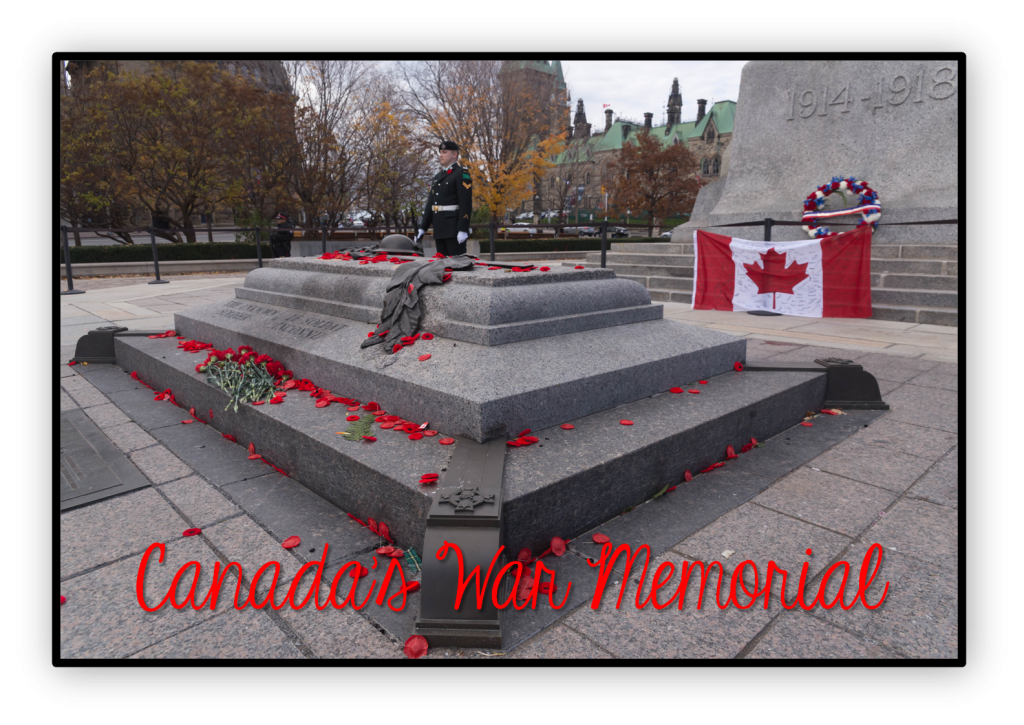 peace activities - Canada's war memorial