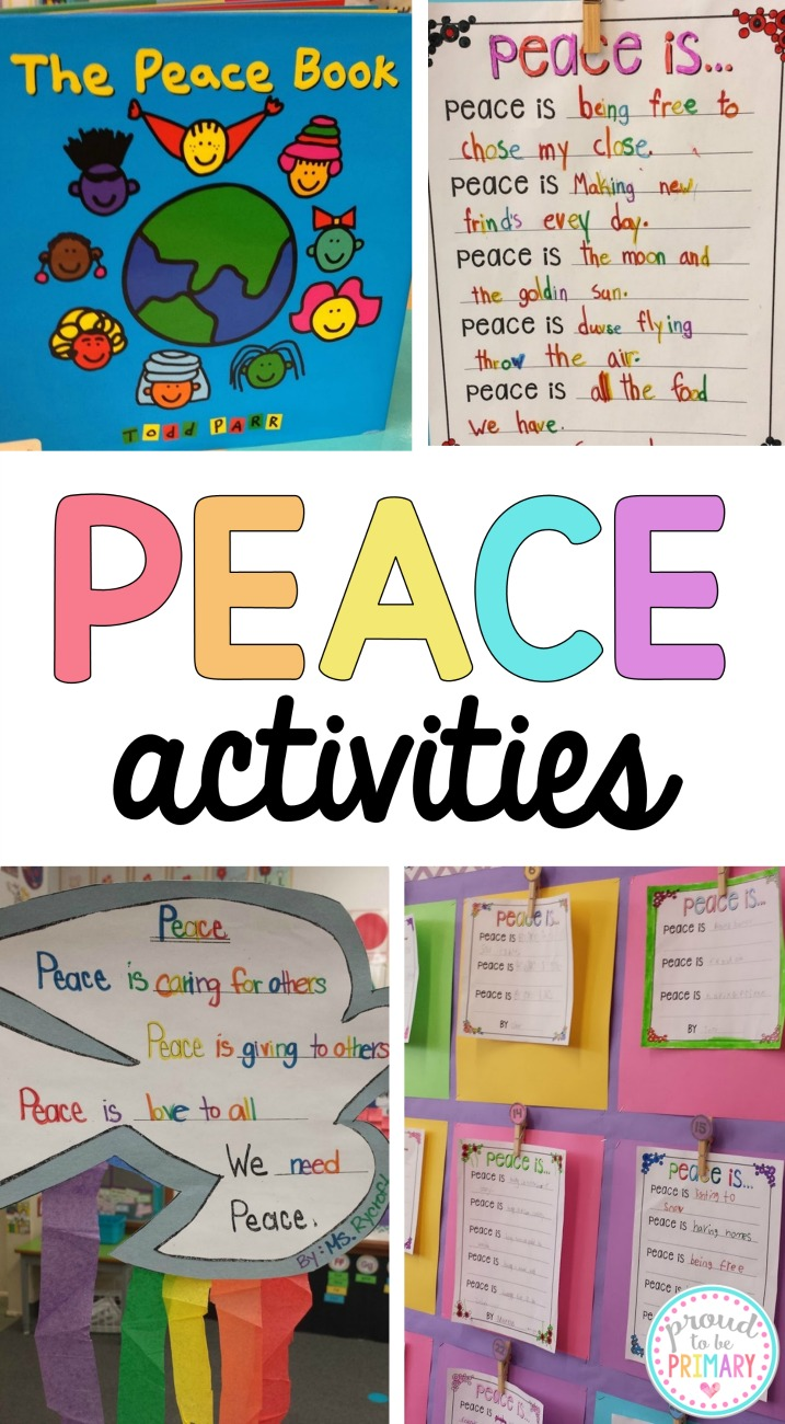 Looking for the perfect way to celebrate and teach about peace in your classroom? You will love these ideas and peace activities for Remembrance Day and Veteran's Day. Grab a few poetry writing activities with FREE templates and a poppy art lesson. #veteransdayactivities #remembrancedayactivities #peaceactivities #peaceart #poppyart #teacherfreebies