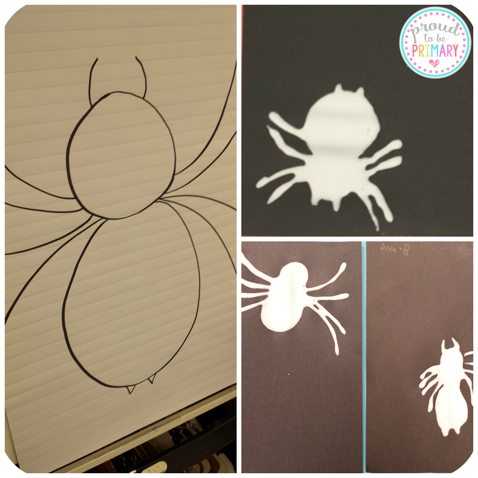 Brave enough to teach your students about spiders this fall or Halloween? This spider post includes a ton of activities - science, non-writing writing, life cycle, art project, and more to engage and entertain students in their learning about spiders!