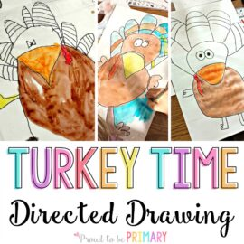 turkey drawing