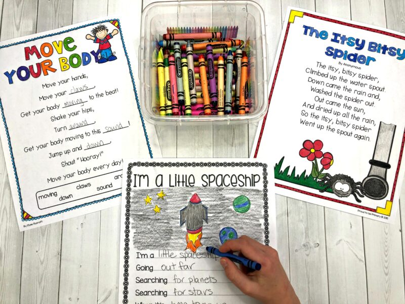 themed poetry activities