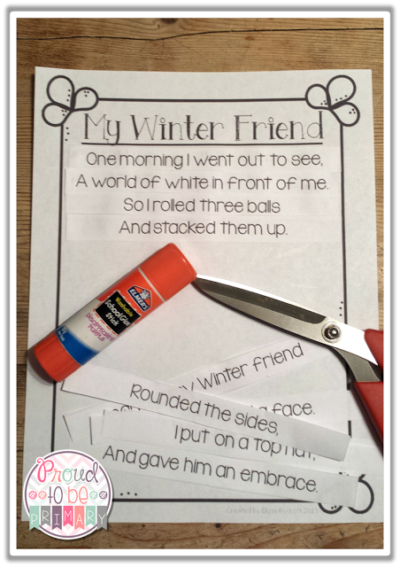 poetry activities - my winter friend