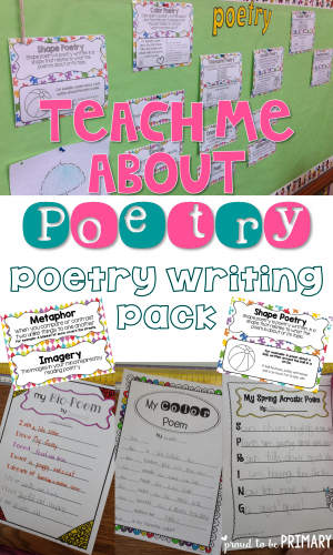 poetry writing pack pinnable image