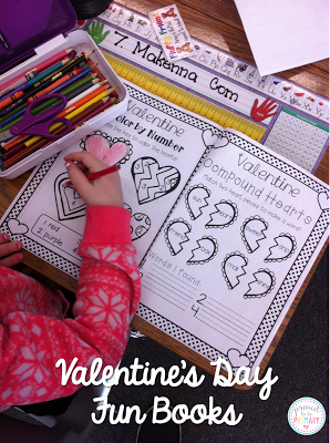 Proud to be Primary: Valentine's Day Activities ~ heart pockets, poem of the week, art, and more!