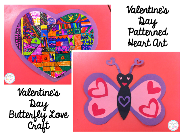 valentine's day activities for elementary school - butterfly love craft