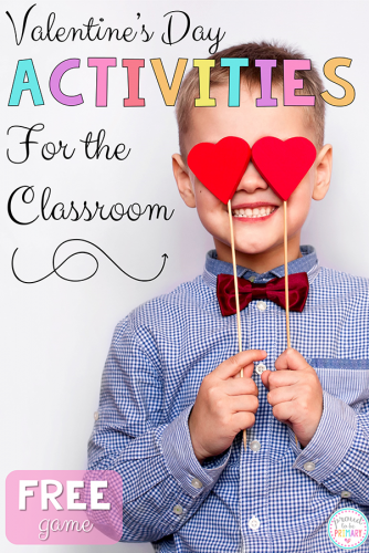 valentine's day activities for elementary school