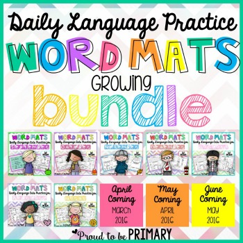 word mats bundle square image
