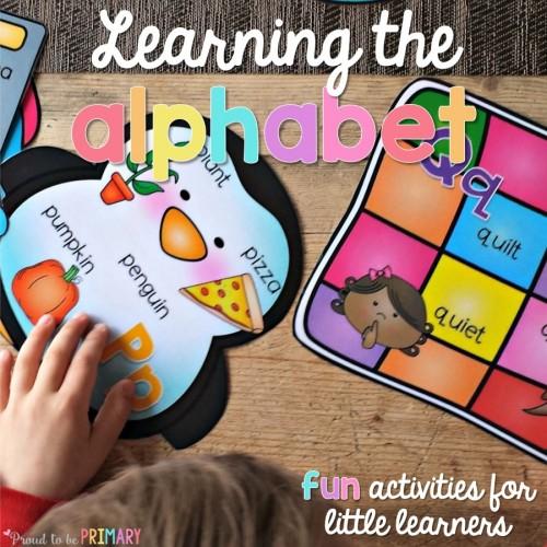 teaching the alphabet