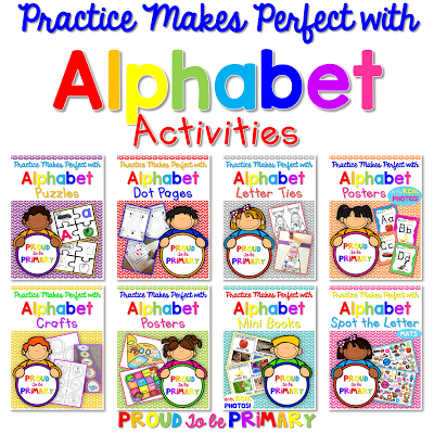 Help young children learn the alphabet with these fun, engaging, and easy to implement activities!