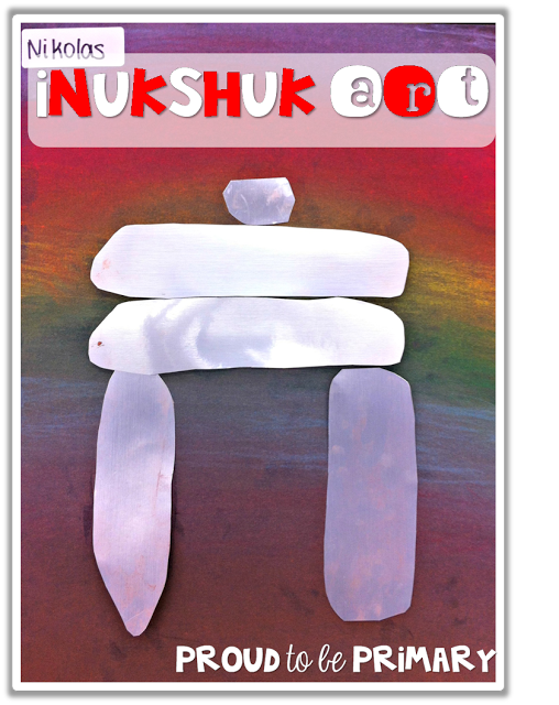 Canadian childrens books - inukshuk art
