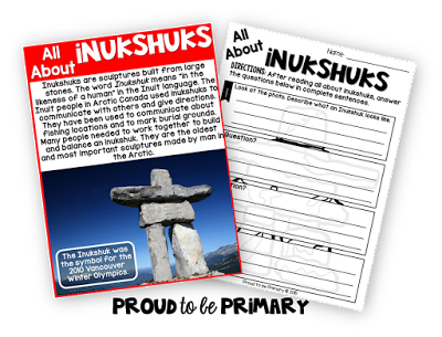canada's childrens books - learning about inukshuks