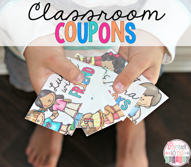 Class Coupons as a Classroom Management Strategy