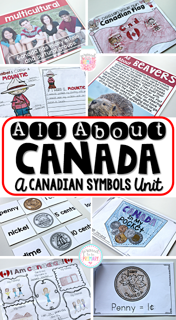 Canadian childrens books -all about canada unit