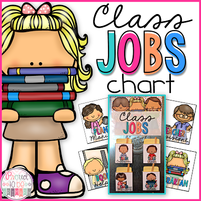 Using classroom jobs in the classroom as a management strategy by Proud to be Primary!