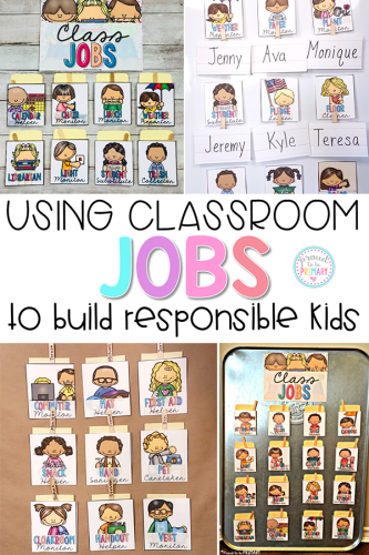 classroom jobs PIN