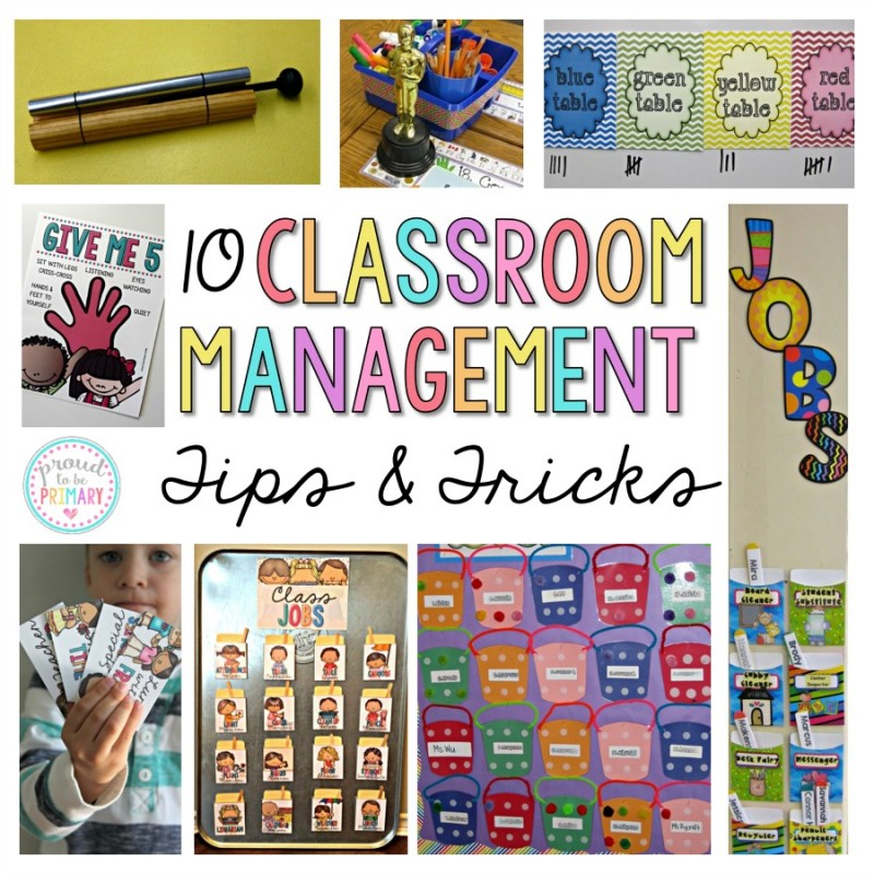 classroom management ideas tips and tricks