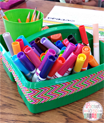 time management for teachers - school supplies