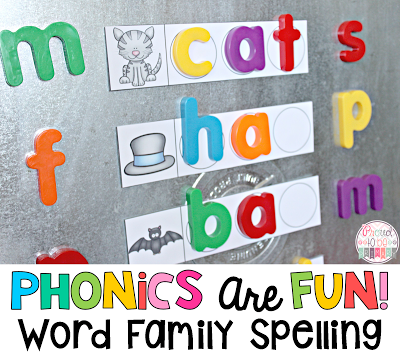 Word Families: Proven Method for Teaching Reading - word family spelling