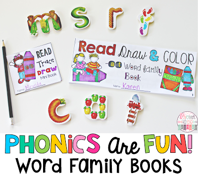 Word Families: Proven Method for Teaching Reading - phonics are fun word family books