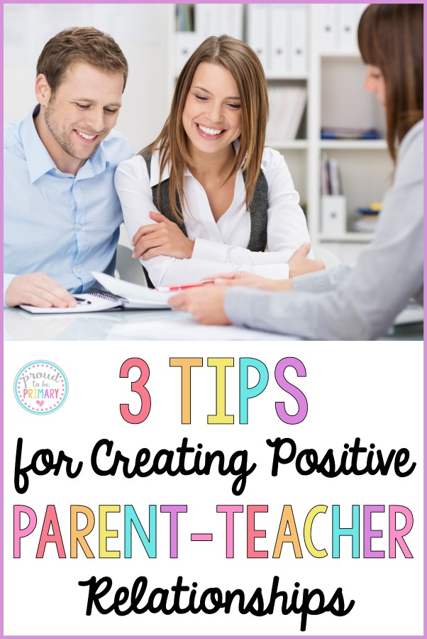 Teachers, are you looking for ways to build trusting relationships with your student's parents? This post shares 3 tips and suggestions on how you can help create positive, meaningful relationships outside of your classroom. A FREE tool is included!