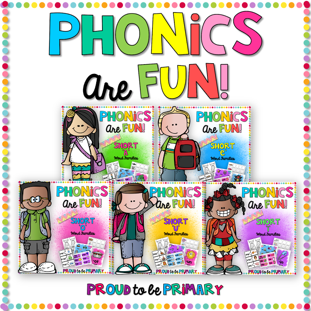 Word Families: Proven Method for Teaching Reading - phonics are fun