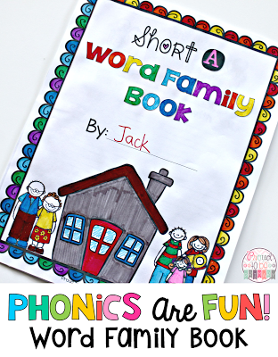 Word Families: Proven Method for Teaching Reading - word family book