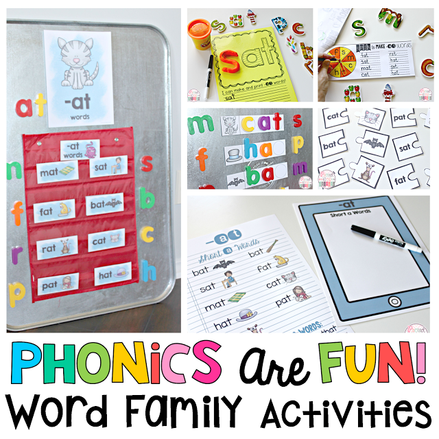 Teach Reading with Word Families