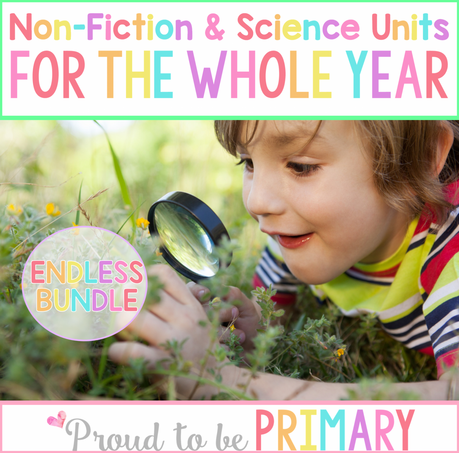 All About... Non-Fiction ELA & Science Endless Bundle