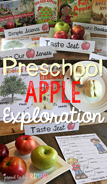 apple activities - apple exploration