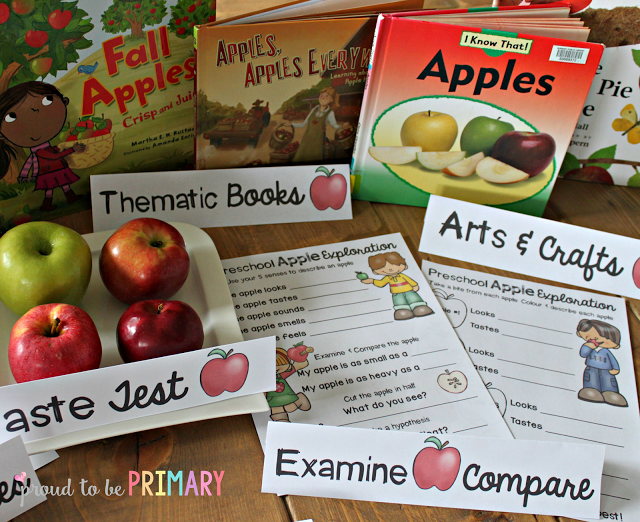 apple activities - books and activities
