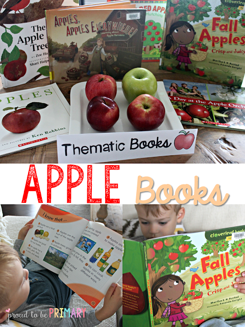 apple activities - books