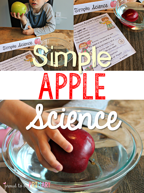 apple activities - apple science