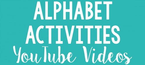 alphabet activities for small groups - youtube videos