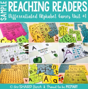 Reaching Readers Differentiated Alphabet Games Sample