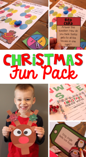 Christmas Fun Pack resource for teachers