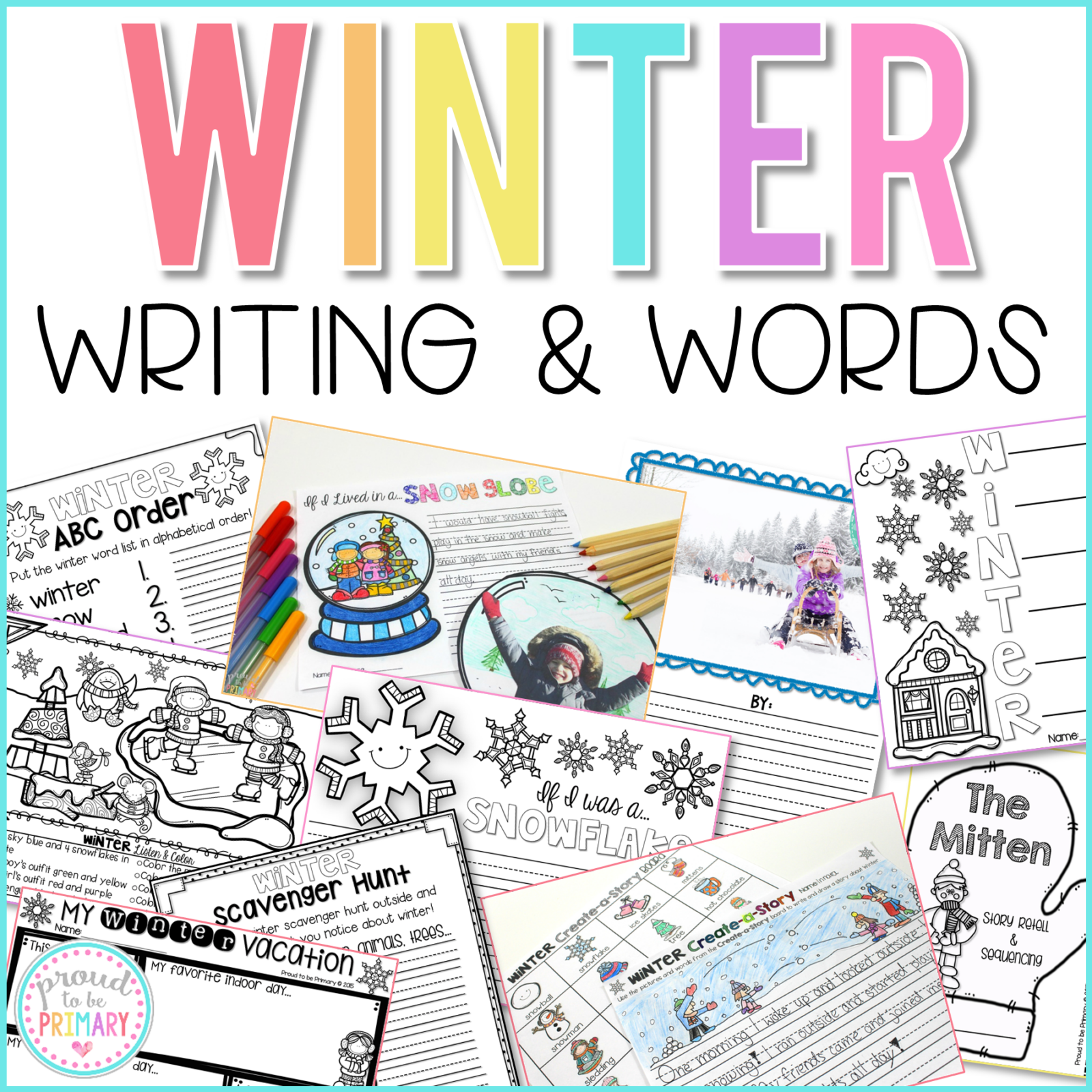 winter writing and words curriculum