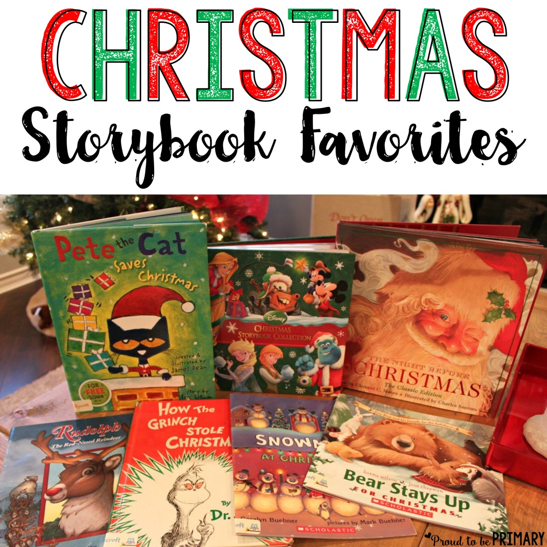 Christmas story book favorites