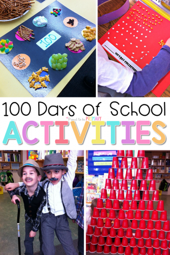 100 Days of School Activities Have a Blast with These