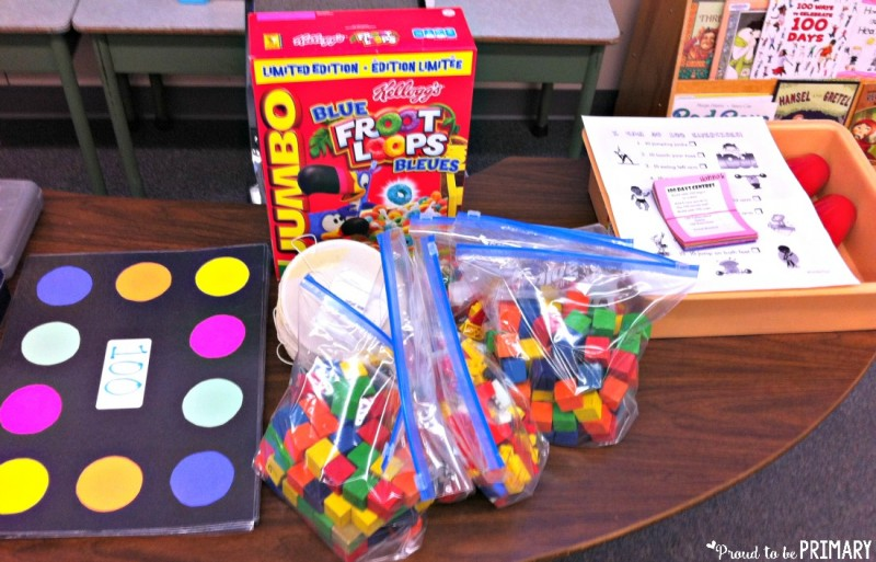 Calling all primary and Kindergarten teachers! Are you looking for FUN learning activities to get children excited for the 100th Day of School? This post includes classroom ideas and centers for your celebration (dress old and create a 100 piece art display)!
