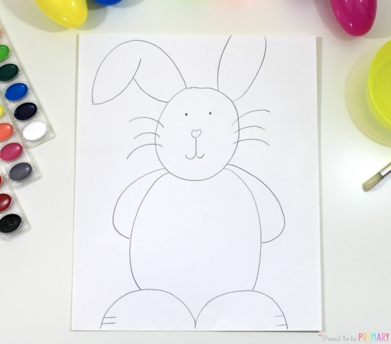 are you searching for the perfect arts and craft activity for easter this directed drawing