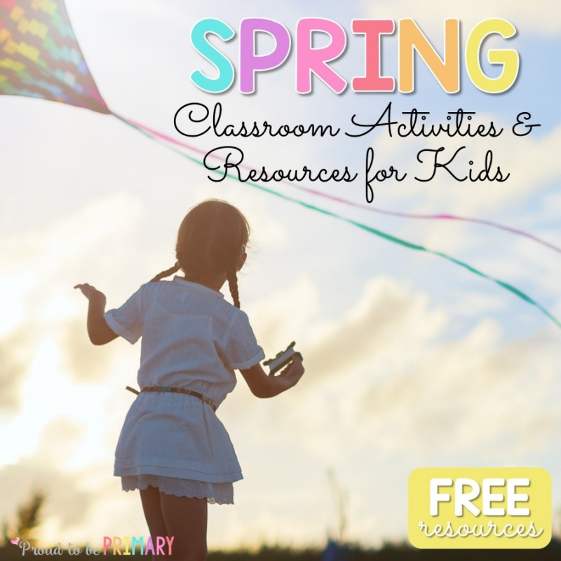 spring-themed activities for the classroom