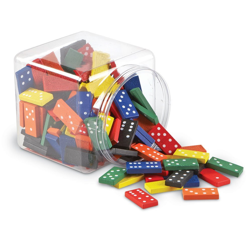 math manipulatives every classroom needs - colored dominoes